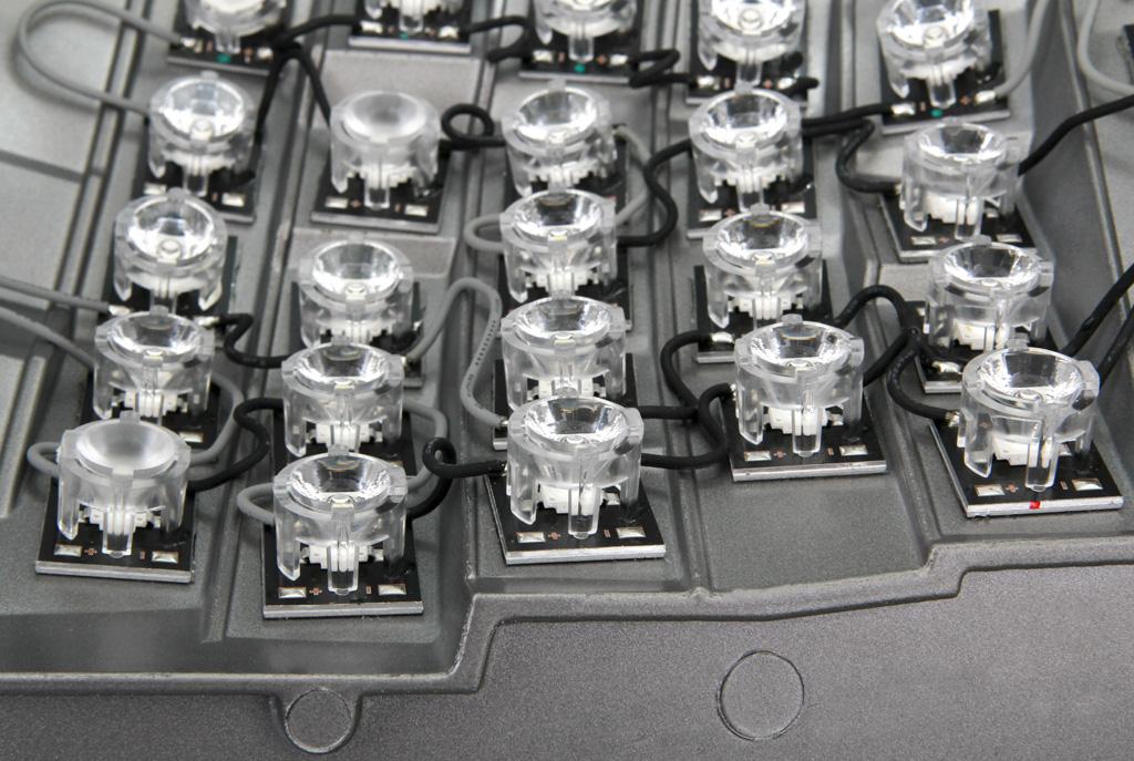 Часть оптического модуля светильника Iguzzini Archilede