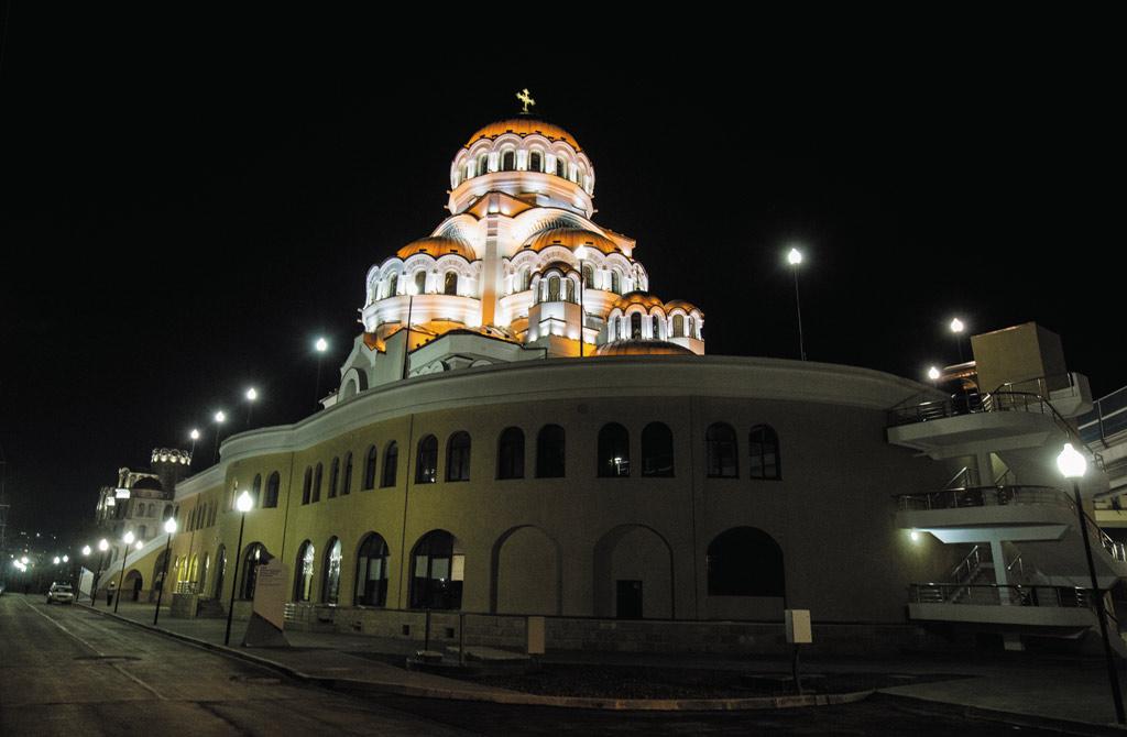Общий вид храма Нерукотворного Образа Христа Спасителя