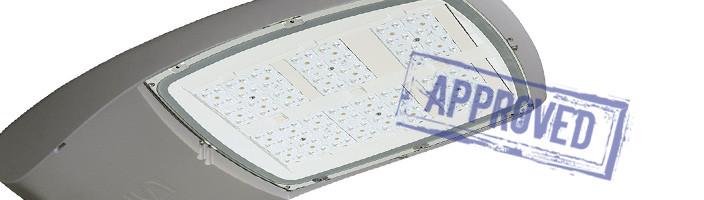 Светодиодный уличный светильник TECEO 2 5102 от компании «Schreder». Подтвержденные в лаборатории характеристики (май, 2014)