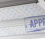 Светодиодный уличный светильник ДКУ-02-160-002 от компании «ЭСТ». Подтвержденные в лаборатории характеристики (май, 2014)