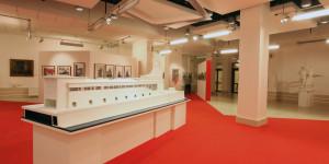 Одна из экспозиций выставочного комплекса Рабочего и колхозницы