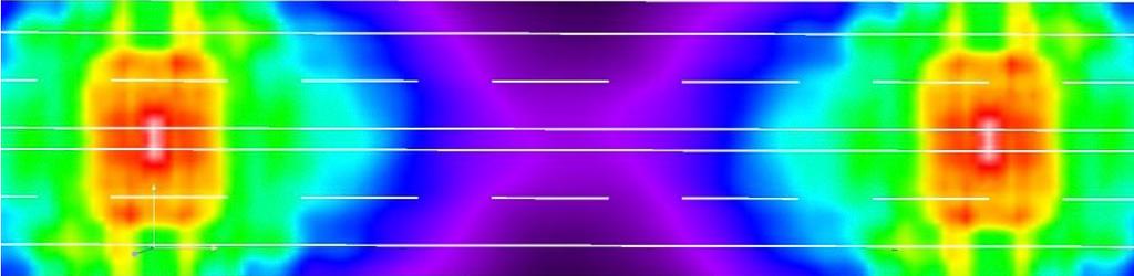 Б2, 4 полосы, опоры 12-метровые с двухсторонним расположением, средняя полоса 1 м