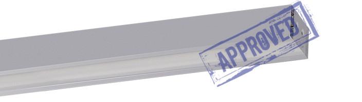 Светодиодный торговый светильник Белинтегра ДПО 12-45-112 «Линейка-П» от компании «Белинтегра». Подтвержденные в лаборатории характеристики (сентябрь, 2014)