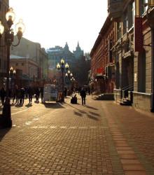 3.3. Для сравнения — улица Арбат, г. Москва