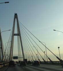 6.2. Освещение Обуховского моста в г. Санкт-Петербург