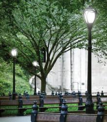 6.3. Садово-парковый светильник компании Spring City, разработанный для Центрального Парка Нью-Йорка