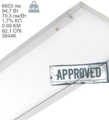 Офисный светодиодный светильник ДСО1001 IEK с диффузным рассеивателем от Группы Компаний IEK