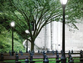 Новые светодиодные светильники в Центральном Парке Нью-Йорка