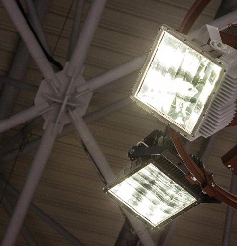 Мощные светодиодные прожекторы и спортивное освещение