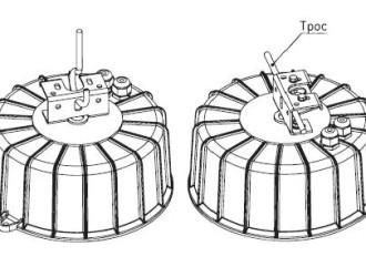 Универсальный узел крепления светильника ЖСП/ГСП51