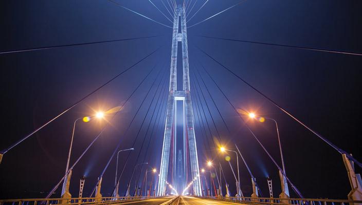 Освещаем мосты России с galad
