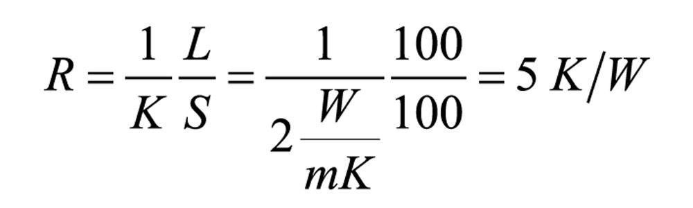 Тепловой менеджмент: формула расчета