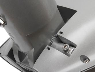 Шкала и механизм регулировки наклона светильника