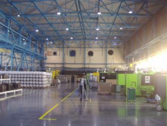Светильники GALAD Гермес ГСП51 на складах Тульского завода по производству металлоконструкций Opora Engineering