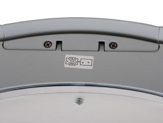 Фотография маркировки снаружи светильника