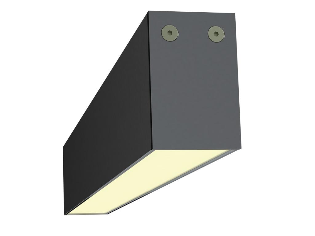 Защитный угол светильника: линейный светильник «Тесла»
