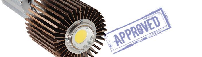 Светодиодный промышленный светильник СНО 150/220-2-4-9 ПРОМ от компании «НПФ ТЭН». Подтвержденные в лаборатории характеристики (март, 2015)
