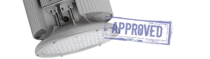 Светодиодный промышленный светильник ДСП 01-135-50-К40 от компании «ТД ФЕРЕКС». Подтвержденные в лаборатории характеристики (март, 2015)