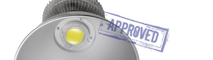 Светодиодный промышленный светильник ET-CC-05-200-60 от компании «Экотехнологии» (г. Первоуральск). Подтвержденные в лаборатории характеристики (март, 2015)