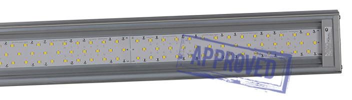 Светодиодный промышленный светильник QUANTUM-120/1 MA-П-D от компании «НПФ КВАНТУМ». Подтвержденные в лаборатории характеристики (март, 2015)