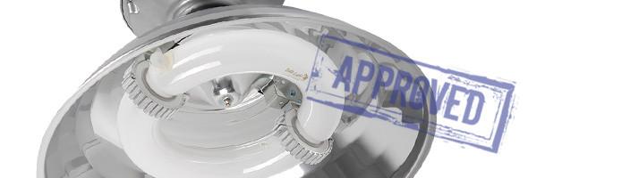 Индукционный промышленный светильник DLI-22-200-50-XXX от компании «ГК БСКА». Подтвержденные в лаборатории характеристики (март, 2015)