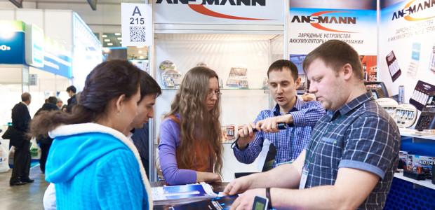 Посетители выставки «ЭкспоЭлектроника-2015»