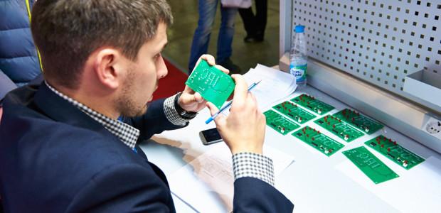 Конкурс ручной пайки в рамках выставки ЭкспоЭлектроника-2015