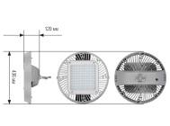 Чертежные виды светильника ДСП 77-150-001 ОТ КОМПАНИИ «ALB»