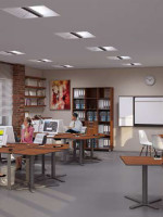 Качественное освещение: стандартная офисная деятельность, Тцв = 4000К