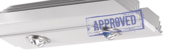 Светодиодный уличный светильник Алтай-С150 от компании «Рубикон». Подтвержденные в лаборатории характеристики (июль, 2015)