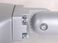Регулировка угла наклона консольного крепежа светодиодного уличного светильника Fregat Led 110 (W) от компании «Световые Технологии»