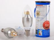 Светодиодная лампа BS-E14-07D  от «Basis»