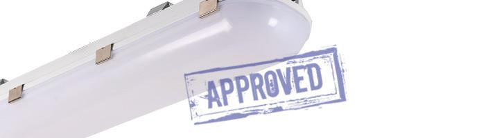 Светодиодный светильник общего назначения ЛСС-36-830-600 от компании «Люценди». Подтвержденные в лаборатории характеристики (август, 2015)