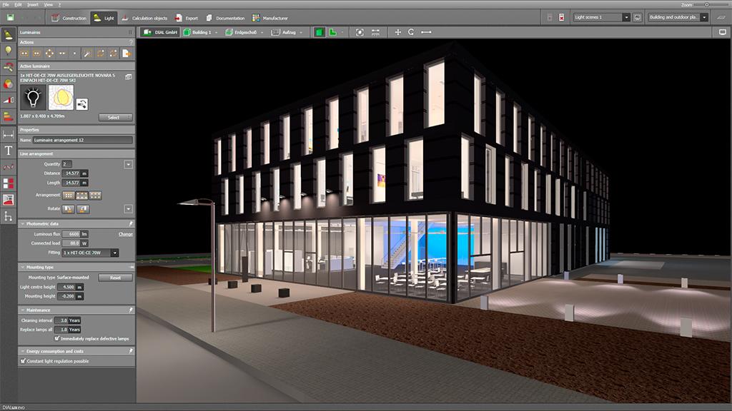 Lighting Design Rendering Software