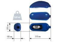 Чертежные виды светильника City WG 250 от Watt Group