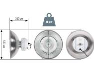 Чертежные виды индукционного промышленного светильника НВ102503 от компании «ПРОМЕТЕЙ — энергоэффективные светильники»
