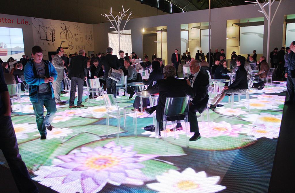 Light Building 2012. Экспозиция компании iGuzzini признана одной из самых эффектных на выставке
