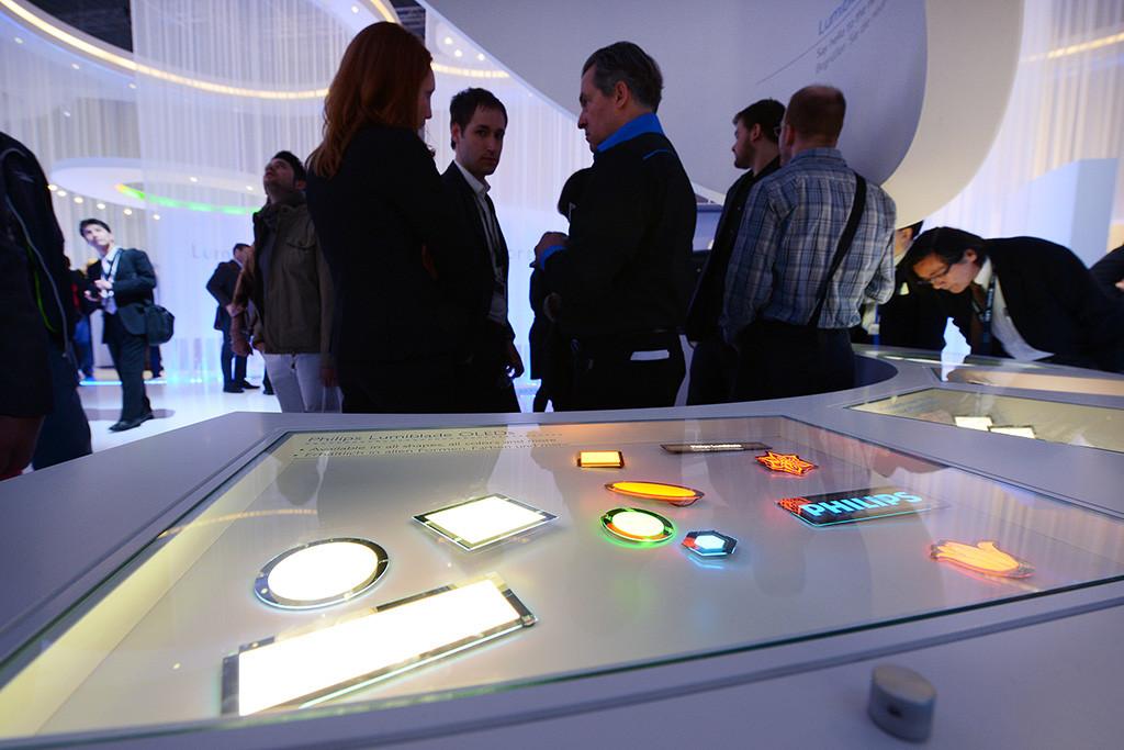 Light Building 2012. Органические светодиоды впервые появились на выставке в таком широком ассортименте