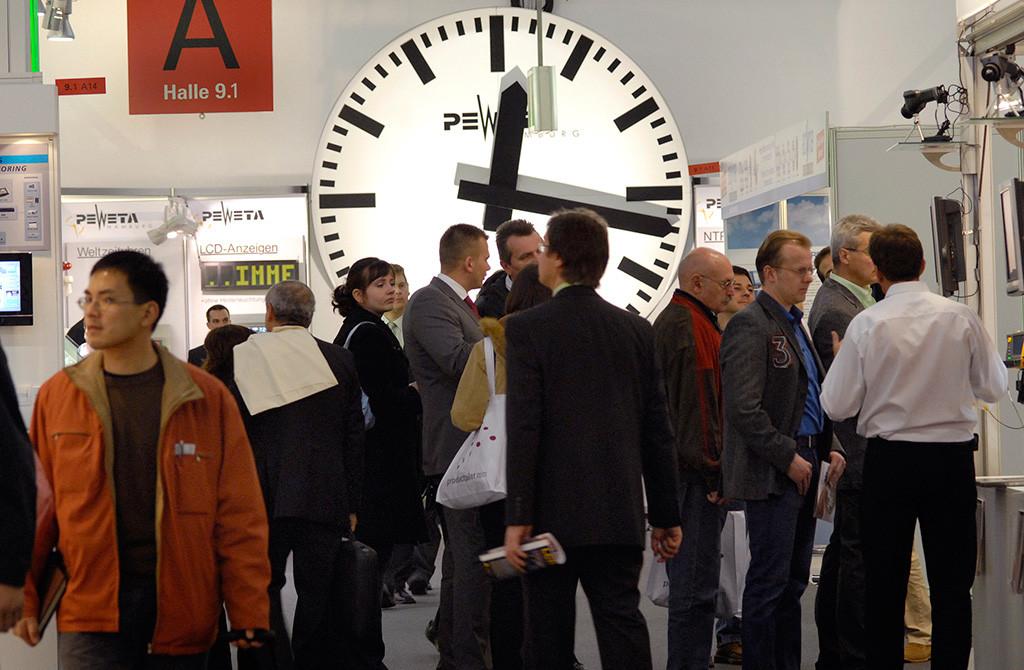 Россия на Light Building 2012. Посетители выставки приехали сюда со всех частей света