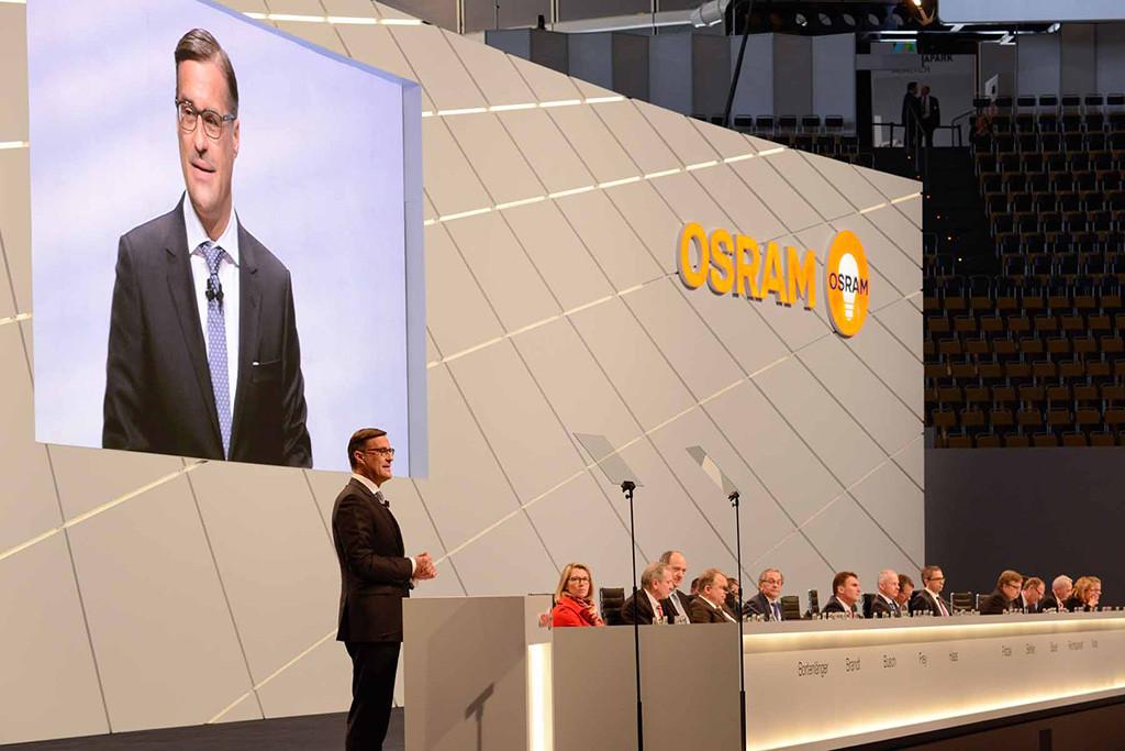 Олаф Берлин (Olaf Berlien), главный исполнительный директор OSRAM Licht AG