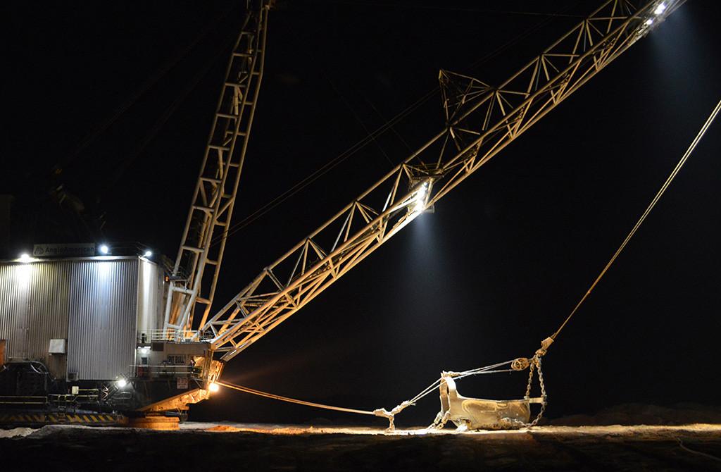Johannesburg, Gauteng (Anglo American Coal Dragline Excavator)