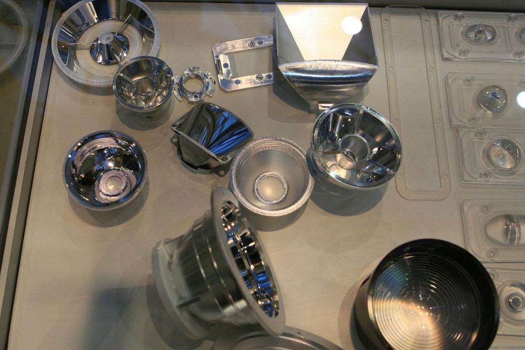 Вторичная оптика и отражатели для светодиодных светильников