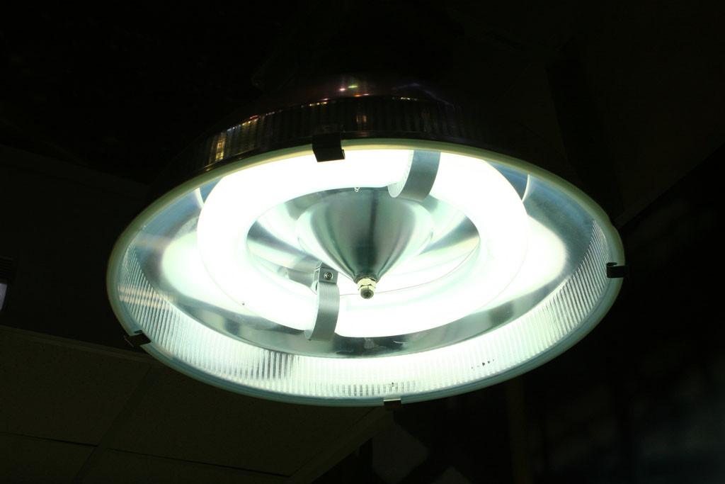 Индукционный промышленный светильник