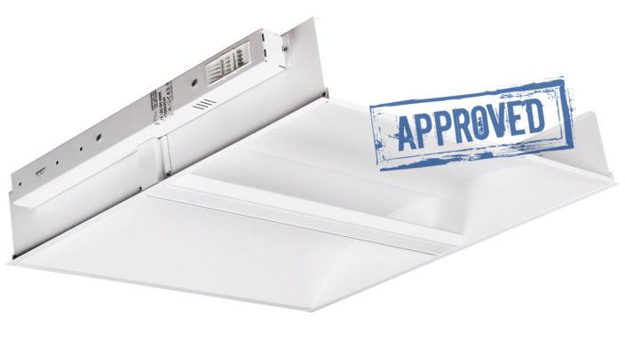 Светодиодный офисный светильник OTX LED 595 4000K от МГК Световые Технологии