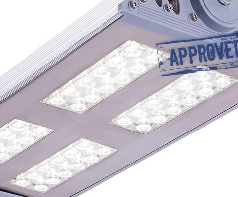 PANORAMA 120 — испытания светодиодного промышленного светильника от компании Аксиома Электрика (май 2016)