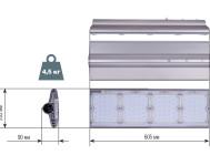 Чертежные виды UniLED 120W-S (LUX)