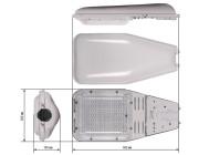 Чертежные виды GALAD Победа LED-100-ШБ1/К50