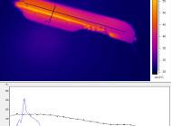 Вид сбоку. Термография GALAD Победа LED-100-ШБ1/К50
