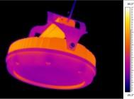 Термография светильника GALAD Иллюминатор LED-160, общий вид