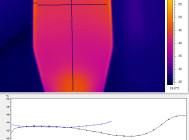 Вид сверху. Термография GALAD Победа LED-100-ШБ1/К50